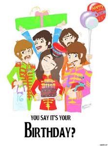 How To Make A Singing Birthday Card - beatles birthday by theabbeyroadie on deviantart
