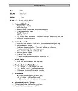technical report template word 2010 weekly activity report template 30 free word excel