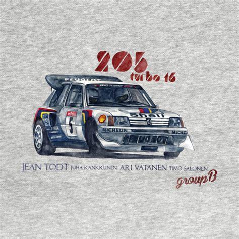 Tshirt Peugeout Sport 02 Bdc peugeot 205 turbo 16 t shirt by dareba via teepublic choice gear