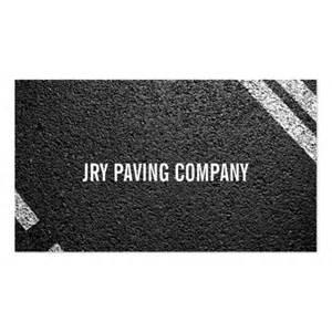 sealcoating business cards asphalt paving construction roadwork business card zazzle