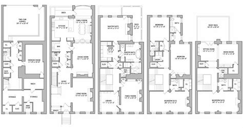 luxury townhome floor plans philadelphia townhouse floor plan house plans