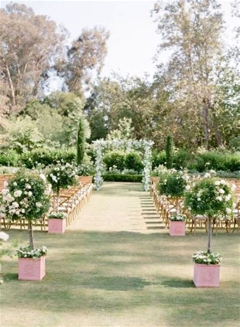 Small Wedding No Aisle by 50 Best Garden Wedding Aisle Decorations Pink Lover
