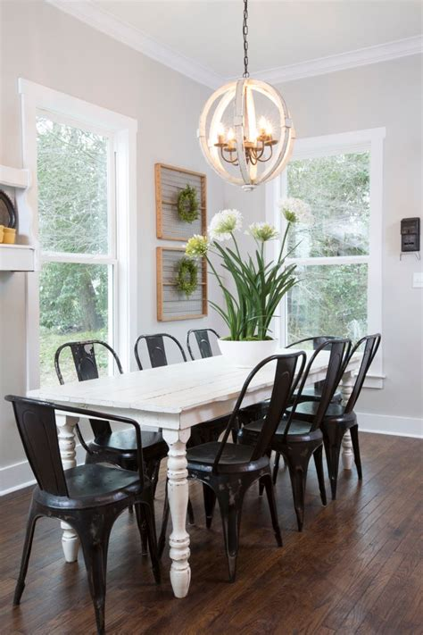 hgtv dining room lighting as seen on hgtv s quot fixer upper quot thursdays 11 10c gt hg tv