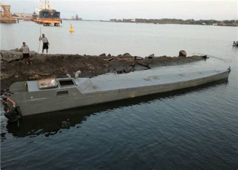 fast boats drugs colombian drug smugglers built military type stealth boat