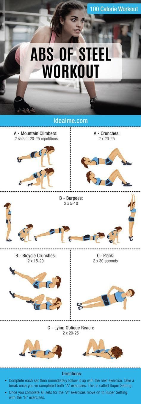 best 10 complete ab workout ideas on tummy workout ab exercise routines and