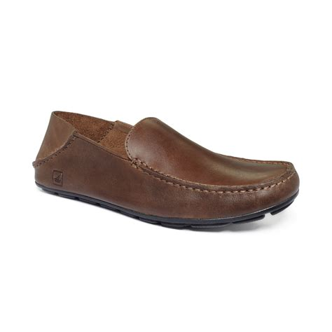 sperry loafers sperry top sider wave driver convertible loafers in brown