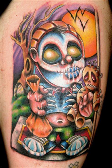 new school halloween tattoo halloween tattoos 23 exles of cool and creepy tattoos