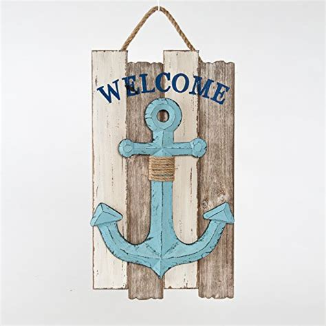 home decor wi wooden wisconsin home wall sign wisconsin glitzhome wooden nautical anchor quot welcome quot wall hanging