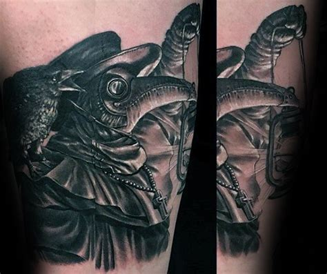 60 plague doctor tattoo designs for men manly ink ideas