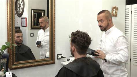 gerarda en la peluquera peluquer 237 a madrid tendencia para hombre 2014 2015 youtube