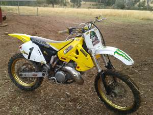 2001 Suzuki Rm 250 2001 Suzuki Rm250 K2 Bike Sales Nsw West
