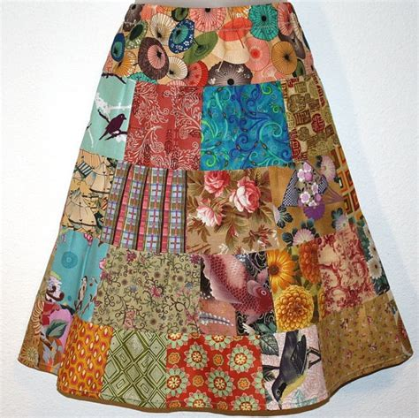 Patchwork Skirts - 1000 ideas about patchwork skirts on boho