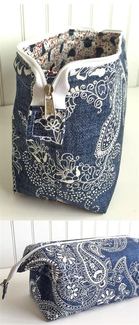 zippered pouch sewing pattern de 25 bedste id 233 er inden for zipper pouch p 229 pinterest