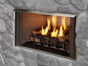 outdoor lifestyles villa gas fireplace heat glo
