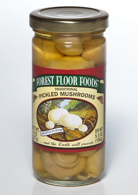Forest Floor Foods by Traditional Pickled Mushrooms Forest Floor Foods