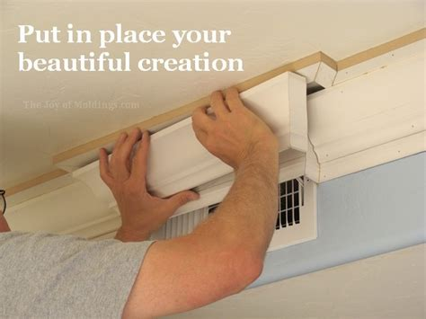 how to put up crown molding on kitchen cabinets pictures of crown molding beautiful steps to cut a cope