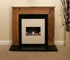 Gas Fireplace Surround Bonita Traditional Style Flueless Gas Wood Fireplace