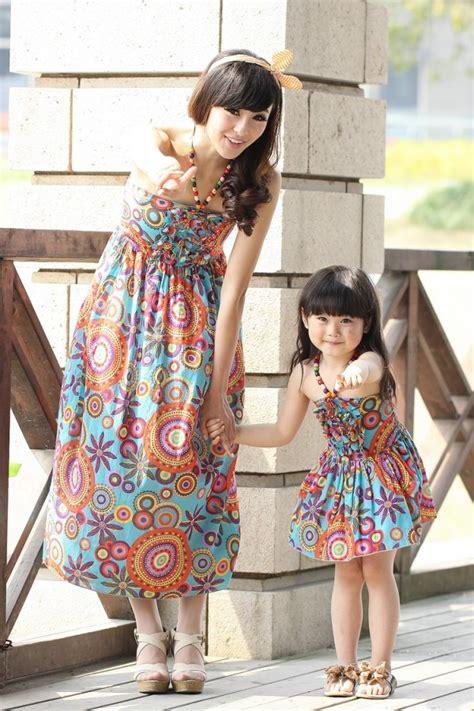Baju Dresscouple Bonia Ibu Dan Anak Dress blue cotton dress import kode jyc23580blue zahira boutique olshop pretty stylish confident