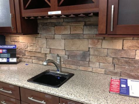 kitchen backsplash stone pin by lisa terbeek on home ideas pinterest