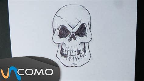 imagenes calaveras terrorificas dibujar calavera paso a paso youtube