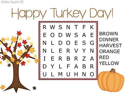 printable word search for thanksgiving wordsearch archives chicken scratch ny