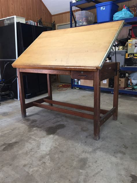 drafting table prices vintage hamilton drafting table antique price guide