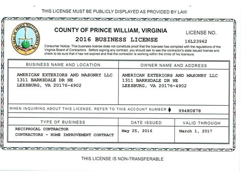 virginia business license images gallery