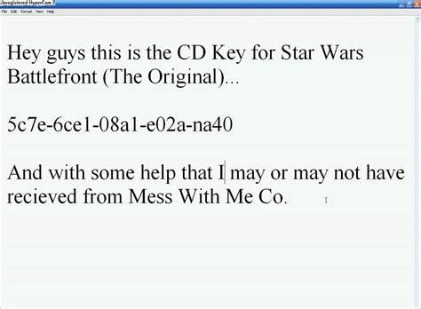 Wars Battlefront Standard Edition Original Origin Cd Code Only wars battlefront cd key