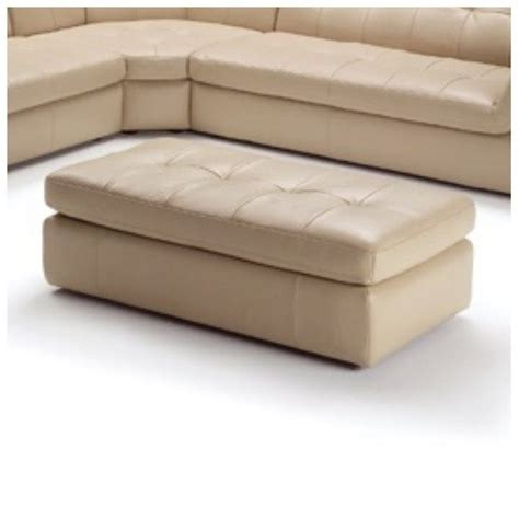 beige leather ottoman catania leather ottoman in beige ca 527780