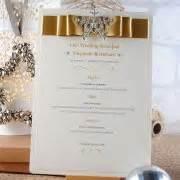 winter wedding menu ideas uk winter snowflake handmade wedding invitation