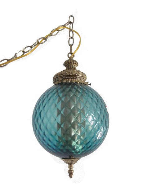 Ice Blue Swag L Vintage Decor Treasures Swag Lights