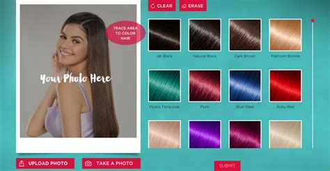 hair color simulation here s the hair coloring simulator you ve always wanted