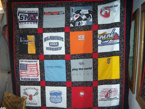 T Shirt Memory Quilts by T Shirt Quilts Memory Quilts Custom Order Bug Lace
