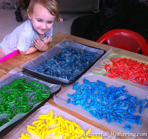 how to color pasta easy how to color pasta for play