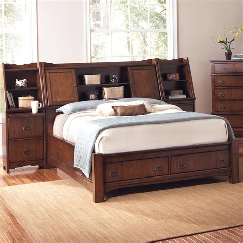 Beautiful King Size Bookcase Headboard Doherty House King Size Bed Bookcase Headboard