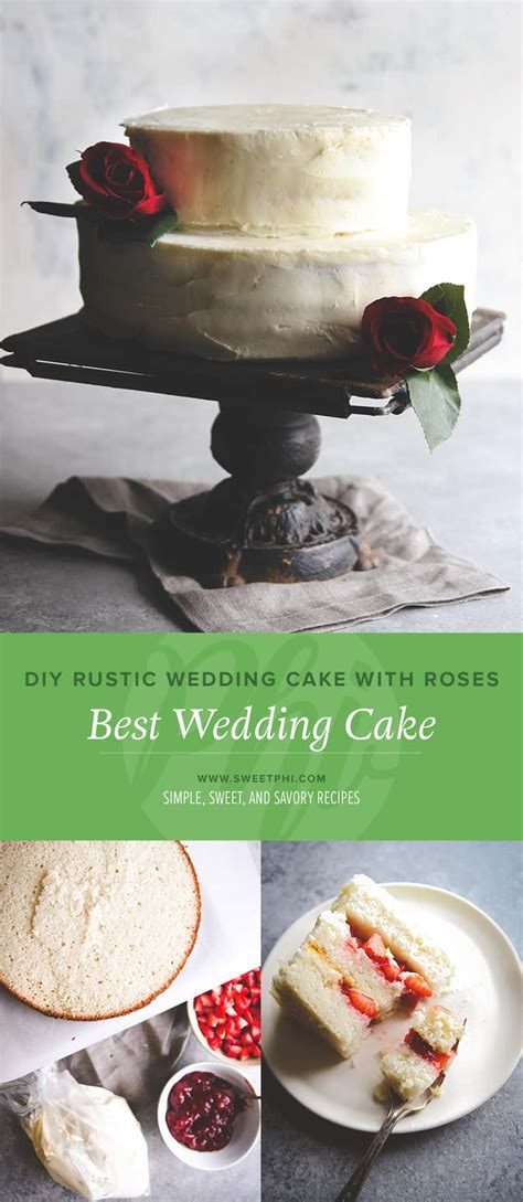 Best ever wedding cake recipe   white almond buttercream