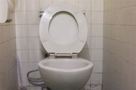 Tutup Kloset Duduk Techplas Putih junhari nekat curi tutup kloset di toilet mal okezone news