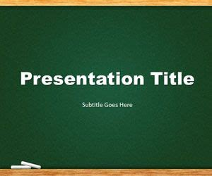 Free Chalkboard Powerpoint Templates Free Ppt Powerpoint Backgrounds Slidehunter Com Chalkboard Powerpoint Template