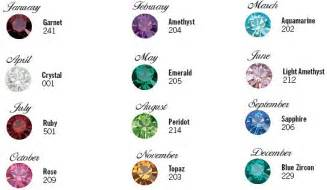 may birthstone color color chart salvation bracelets