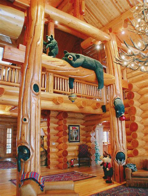 home interior bears log home photo gallery north american log crafters