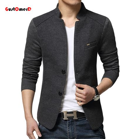 Top Blazer M Fit L Babyterry Quality 2015 new mens blazer patchwork suits for top quality