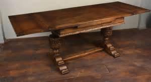 antique draw leaf table oak draw leaf refectory table antiques atlas