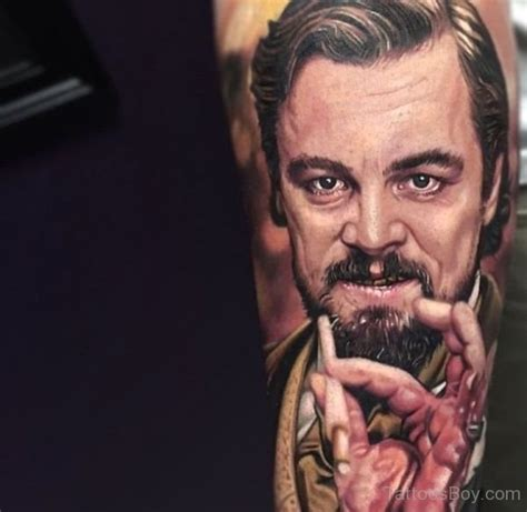 leonardo dicaprio tattoos arm tattoos designs pictures page 13
