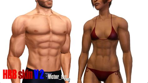 mod the sims downloads body shop hair female mod the sims huge bodybuilder skins v2 0 v2 1 nd bodies