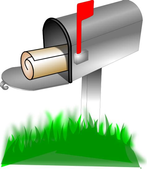 mailbox clip at clker vector clip