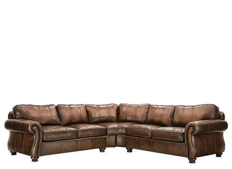 bernhardt van gogh leather sectional 25 best images about leather sectional sofas on pinterest
