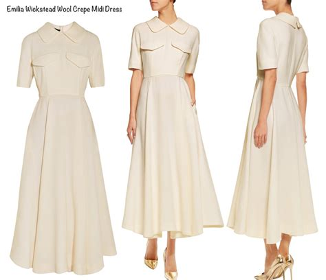 Dress Pink 14418 kates wickstead wool crepe midi dress april 11 2016 mumbai