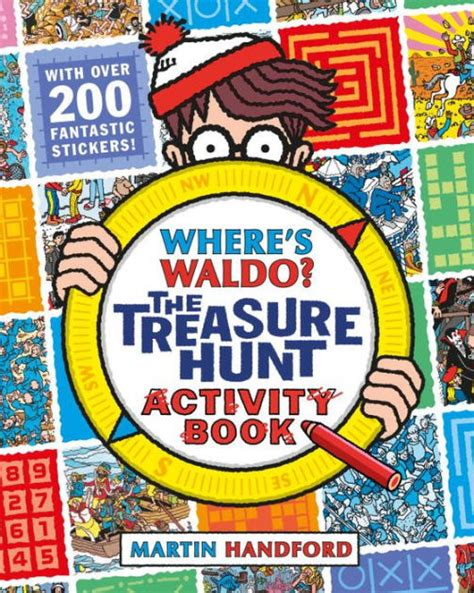 libro wheres spot spot where s waldo the treasure hunt activity book by martin handford paperback barnes noble 174