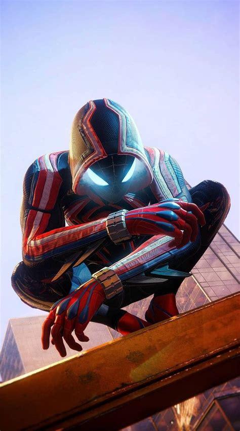miles morales  suit marvel spiderman art spiderman