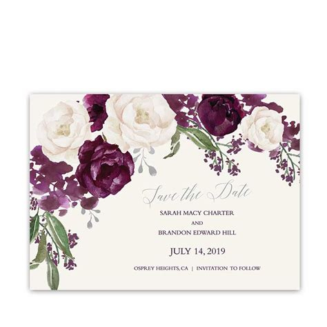 Save The Date Wedding by Wedding Save The Date Cards Custom Design Templates